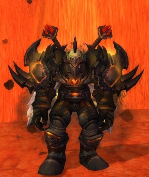 魔兽世界兽人战士_魔兽世界 兽人战士幻化 求名字求出处_百度知道