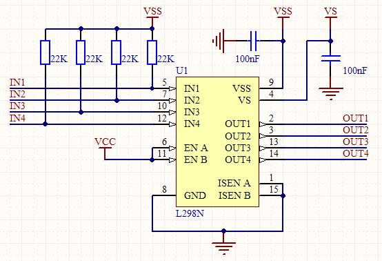 小�8�9o.�in8�9l#��m8�9����-8�_下图是l298n驱动直流电机电路图,想请问下那8个in4001