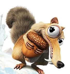 冰川时代 松鼠_冰河世纪里面的松鼠