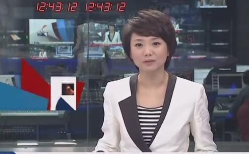 cctv5中午體壇快訊女主播叫什么名字?圖片