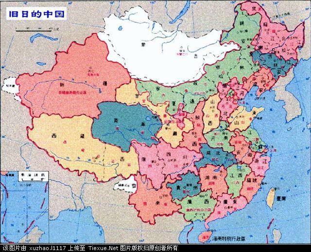 日本占领的国土_日本侵华所占面积最大时期的中国地图。_百度知道