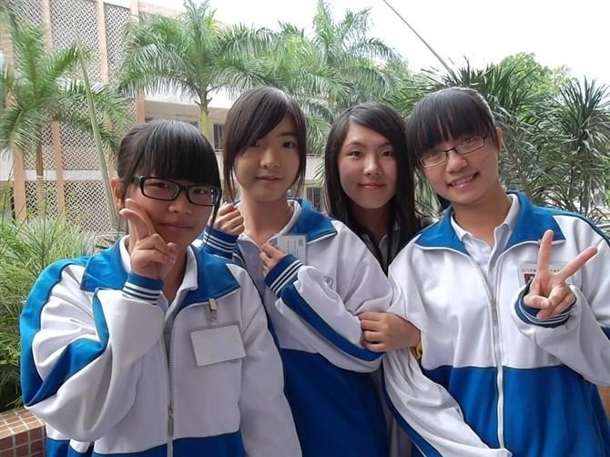中学校服_新会东方红中学校服与上海哪所学校的校服相像_百度知道