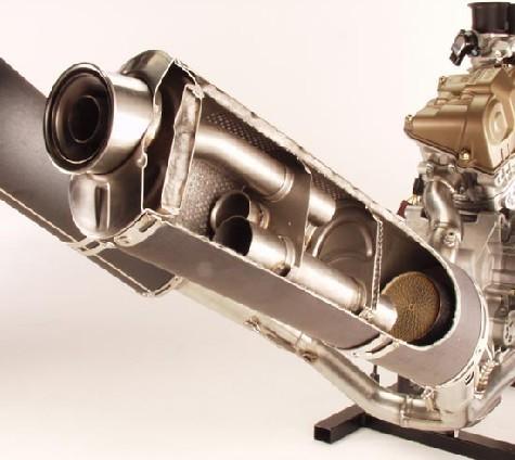 摩托车排气管构造图_谁有125摩托车直通排气管内部结构图啊?_百度知道
