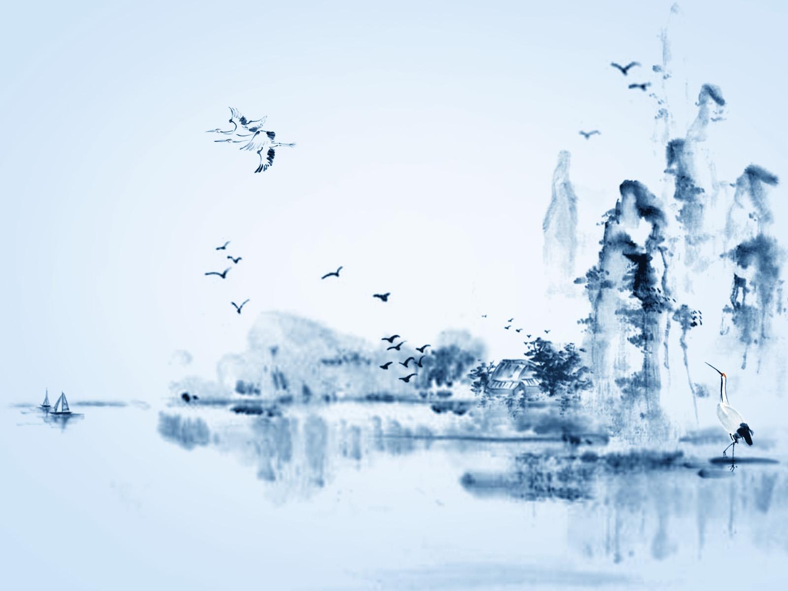 山水画qq头像_来个中国风的QQ头像,最好是水墨画~_百度知道