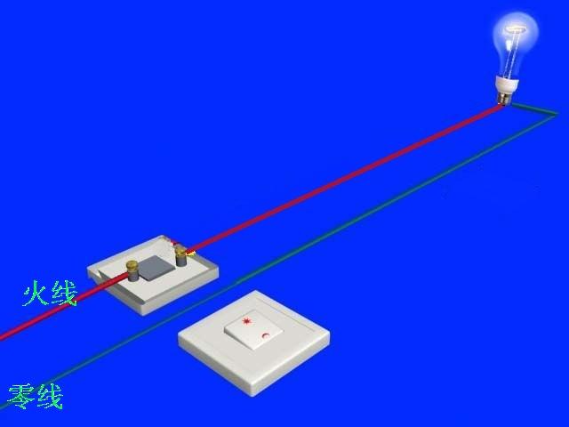 电灯单控开关接线图_一位双联开关接线图图片展示_一位双联开关接线图相关图片下载