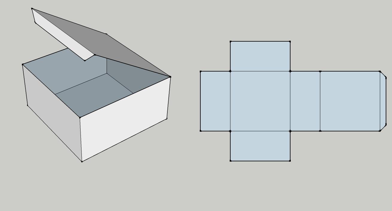 包装盒子平面展开图_谁能给我个包装盒的平面展开图和三维立体图?jpg就行,不要太 ...