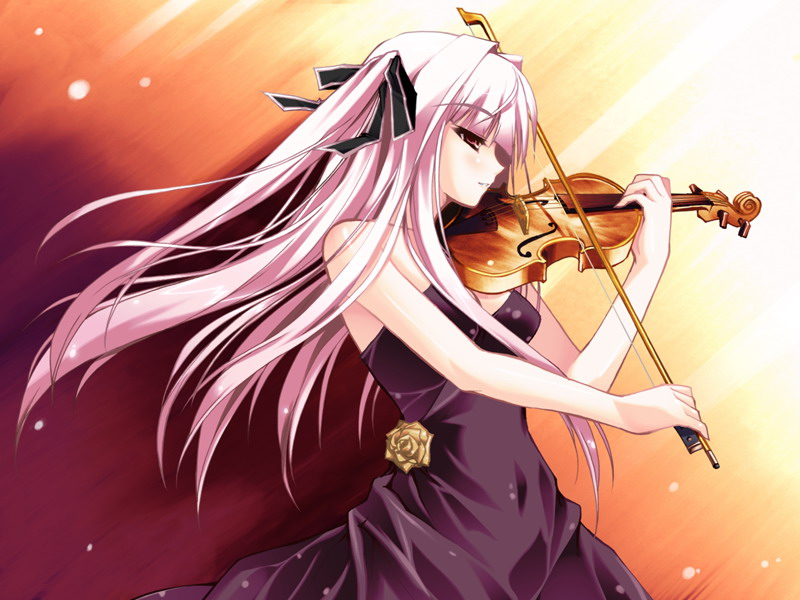 动漫美女拉粑粑图片_动漫拉小提琴图_百度知道