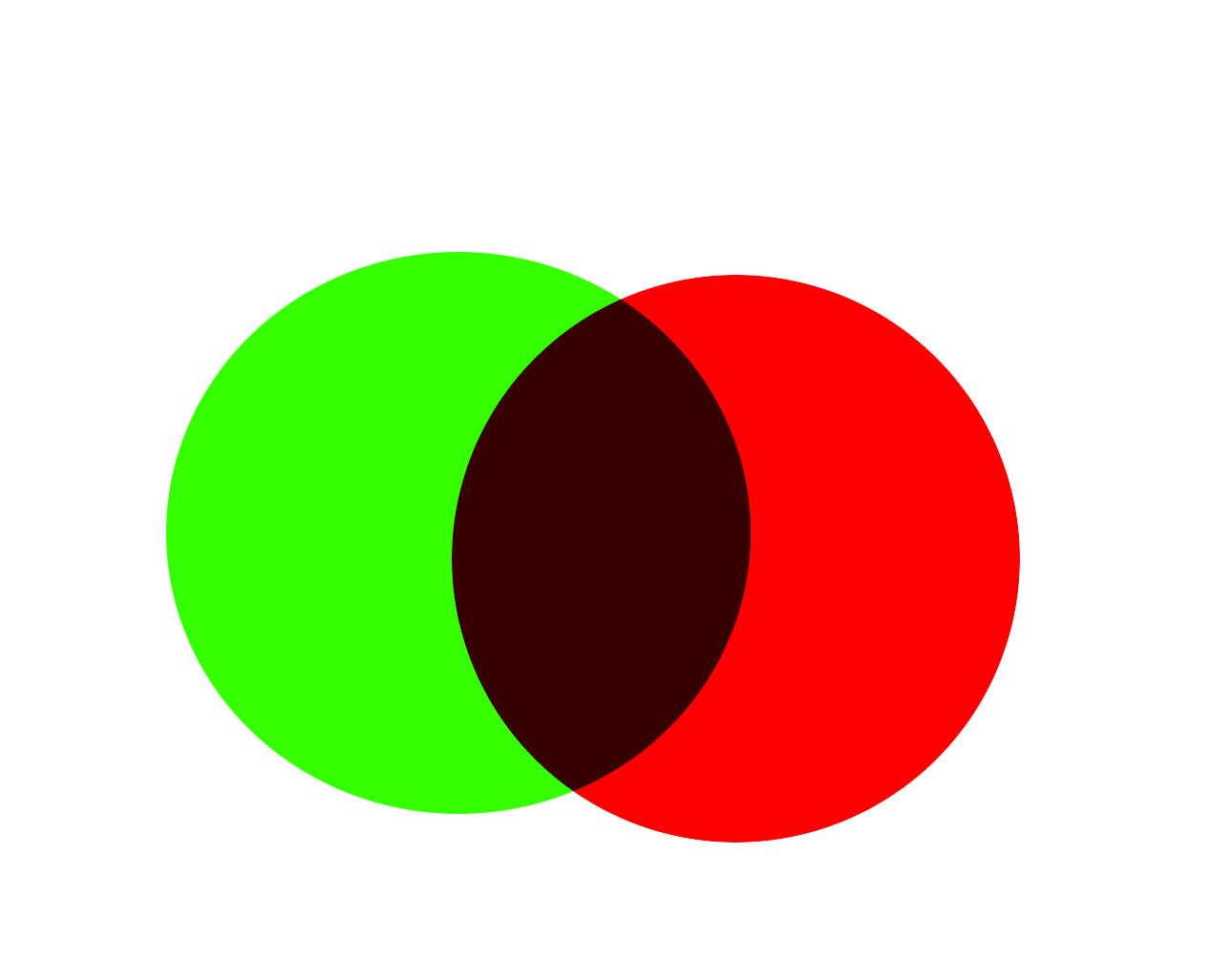 去就色_红色和绿色是对比色,但为什么红色和绿色混合出来是黄色,而不是灰色调