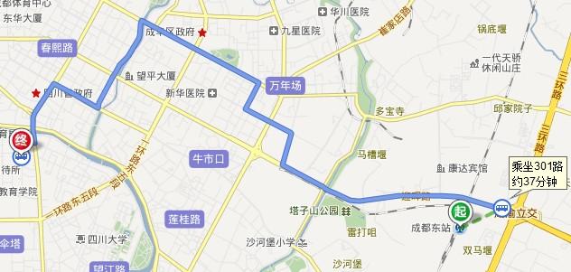 老樂山風景區平面圖
