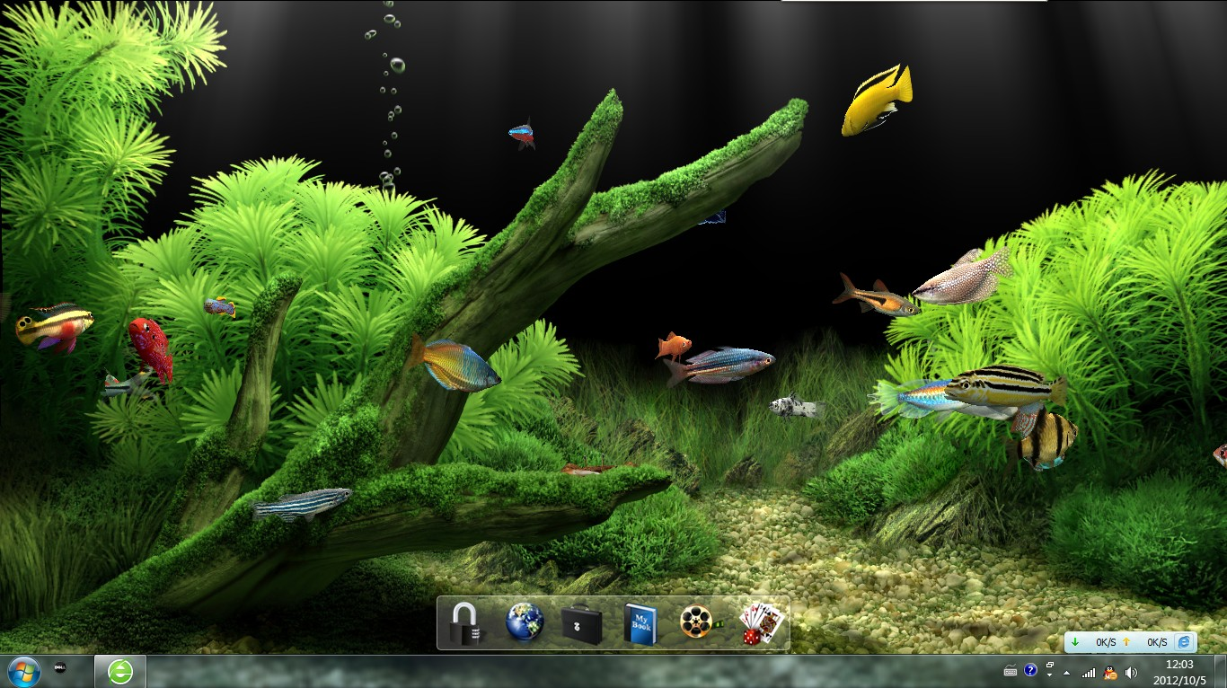 win7动态屏保下载_windows7系统可以下载水族动态屏保吗_百度知道