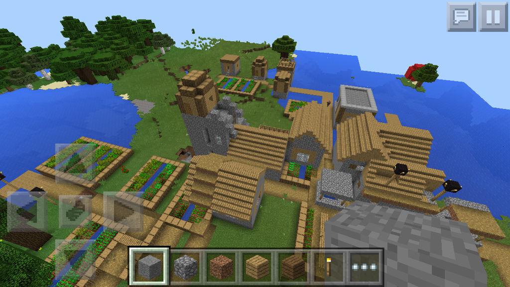 巨型村庄种子_我的世界生存模式村庄在哪,村庄种子是啥,seed是什么