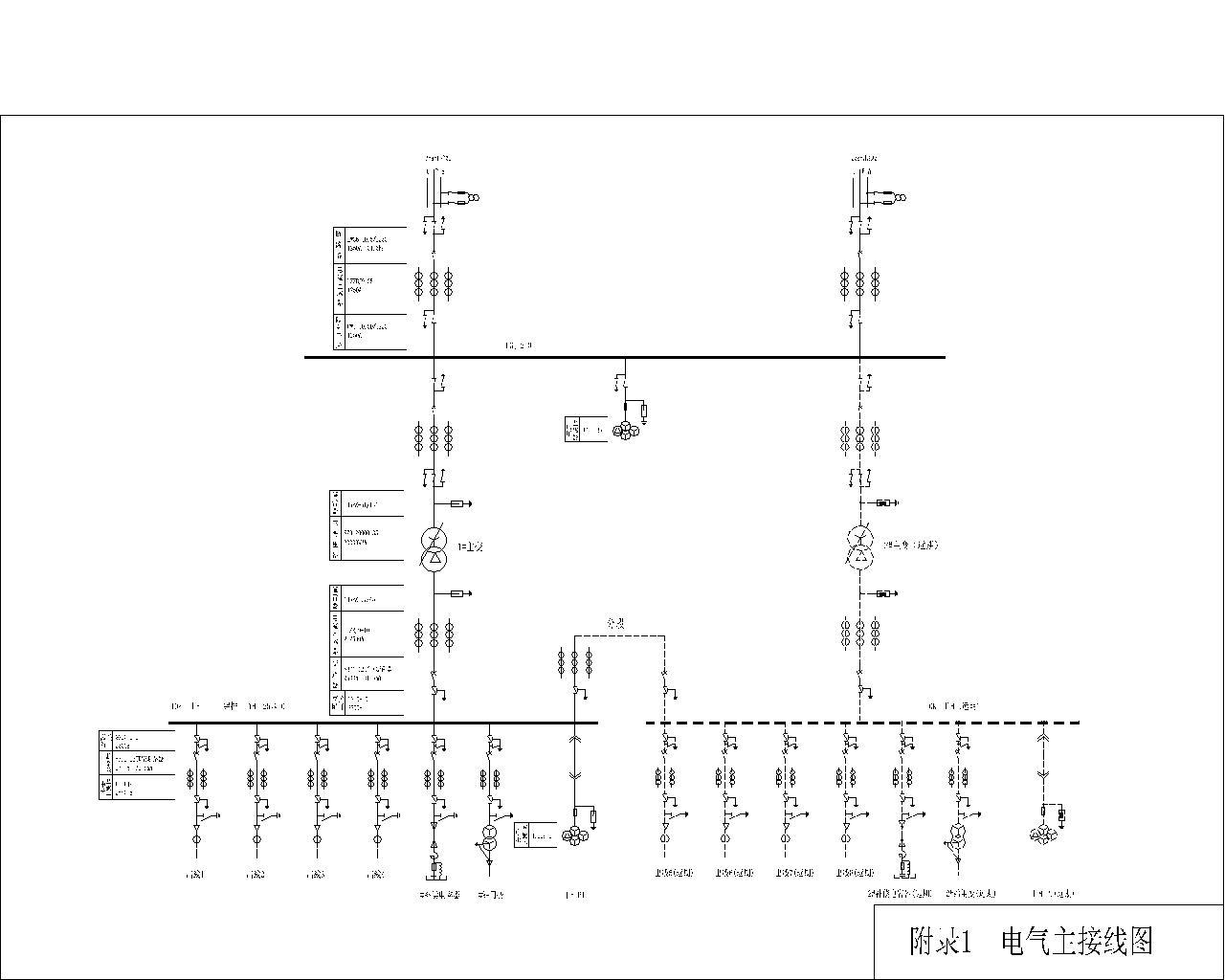 35kv变电所主接线图_35kv降压变电所主接线图设计_百度知道
