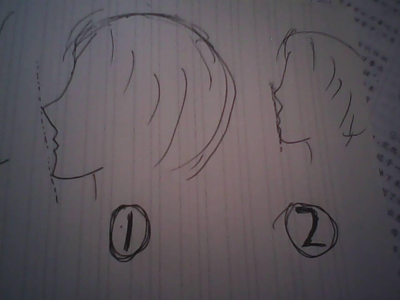 日漫脸型画法_人物…手绘漫画人物侧脸;动漫女生侧脸画法《动漫图片