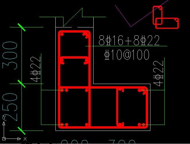 一根筋的意思_广联达里的钢筋软件暗柱的角筋有两个的时候怎么画_百度知道