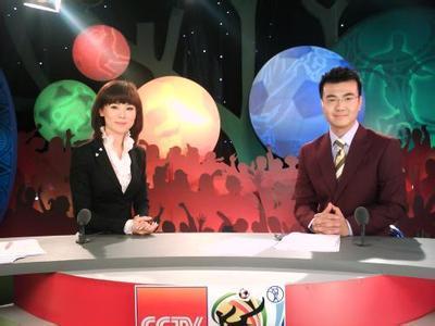 央視體育頻道主持人圖片