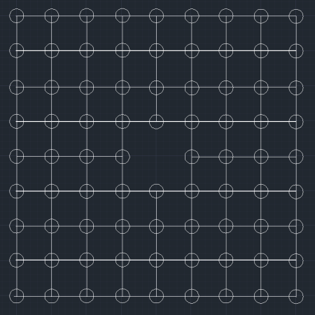二阶方阵_一个正方形实心方阵,最外层共有68人,这个方阵共有多少人?外层每边有