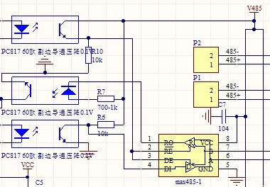 max485应用电路_max485_MAX232_max485典型电路_485接口详细接线图_搞笑网