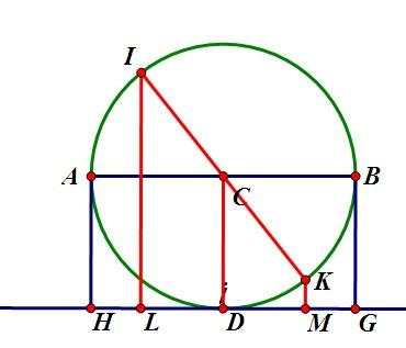 亚洲色囹��il�!깢�y`m���_不改变,ah bg=2cd=2r,运动到某一时间,il km=2cd=2r,故点a,b到直线l的