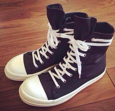 匡威鞋带系法_求rick owens大匡威鞋带的穿法.就像图片里一样的穿法