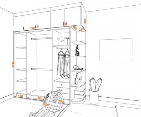 衣柜上面的那一排柜子叫什么柜?圖片