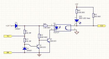 vcc和gnd為繼電保護測試儀dc正負級接點,現將正負極線分別反插入gnd和圖片