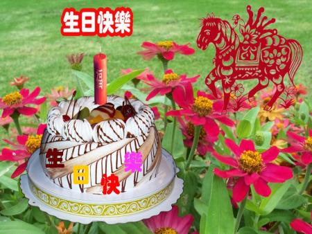 生日祝福�y.{���(nZ_送女友生日蛋糕大图片,谁可以给张我?