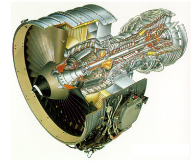 油头�yg��f�x�_发动机耗油率比cfm56-5a1降低约5%,噪声比联邦航空局Ⅲ级要求低20db.