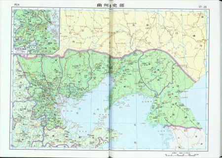 """遼河以西(中間隔一個""""遼東屬國"""")遼西走廊到河北北部是遼西郡.圖片"""
