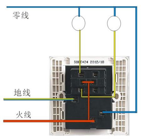 9014开关电路图_一个灯一个开关接线图-一个灯一个开关电路图-一灯一开怎么安装 ...