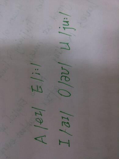 五個元音音標怎么寫圖片