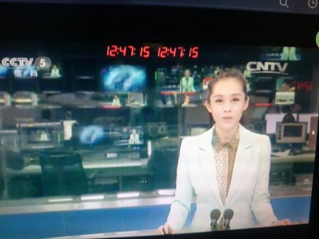 cctv5的體壇快訊,這個主持人是誰?圖片