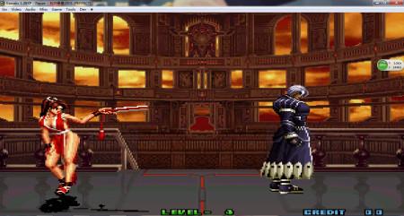 拳皇2001zero遇到不知火舞怎么不會動呢?圖片