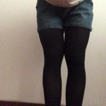 正常女生腿型_回答 腿型标准图片