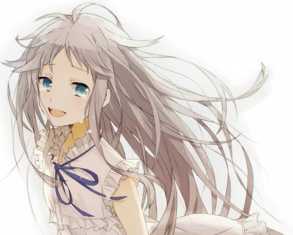 动漫女孩哭的头像_微笑着哭的动漫头像_百度知道