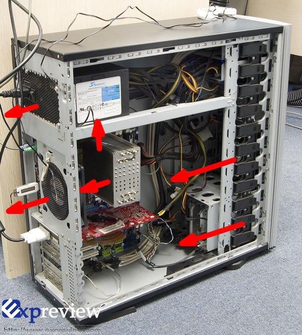 超频3风扇安装图解_cpu超频三红海散热器 安装方向朝哪边对散热好?_百度知道