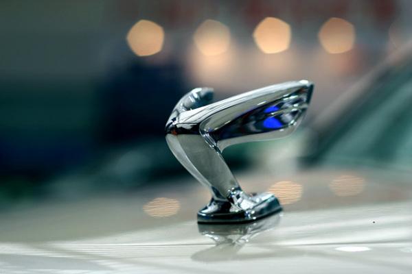 汽车标志像v_车头标像一个飞鸟的翅膀,是银色的_百度知道