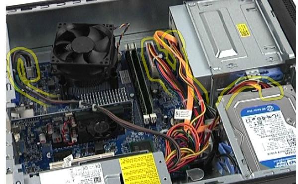 戴尔电脑主机怎么拆_戴尔台式电脑vostro 230主机电源怎么拆_百度知道