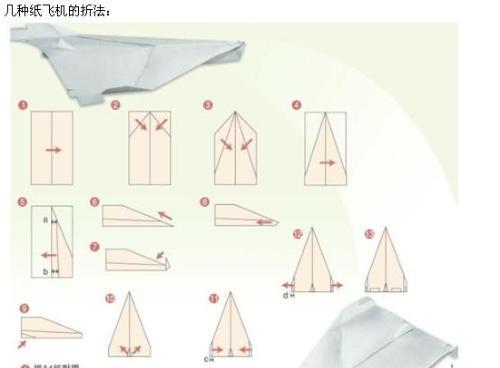 飞机怎么折飞一百米_如何叠飞得最远的飞机_百度知道