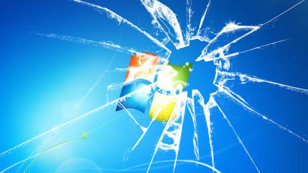 Win7桌面_求一个WIN7桌面玻璃破碎的效果 最好是可以加在原来壁纸上的 ...
