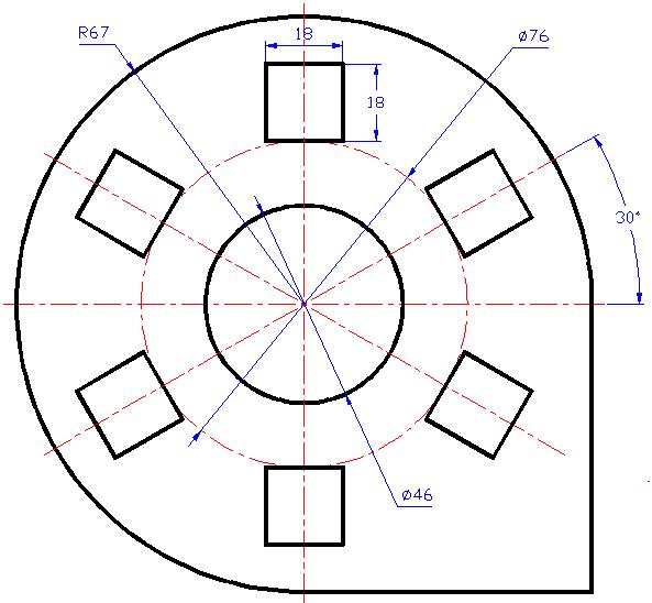 cad机械制图基础_求机械cad练习图_百度知道