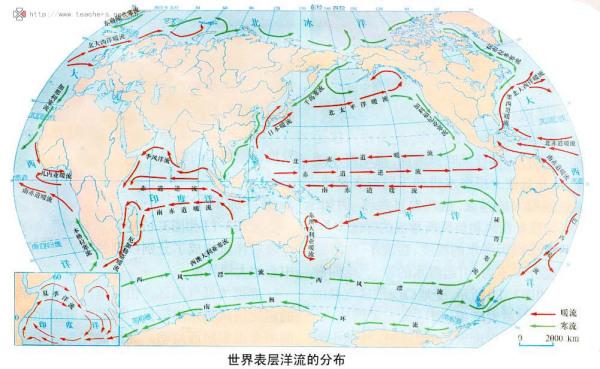 世界洋流分布模式图_世界洋流图_百度知道