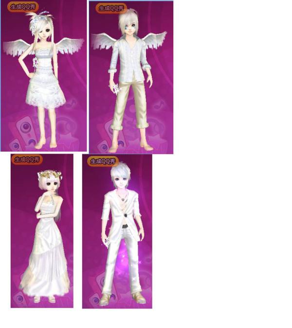 炫舞结婚礼服图片_QQ炫舞结婚礼服...期限是一天的。带图和礼服名字。。谢谢喽 ...