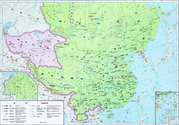 中国地图全图_中国元朝地图全图_百度知道