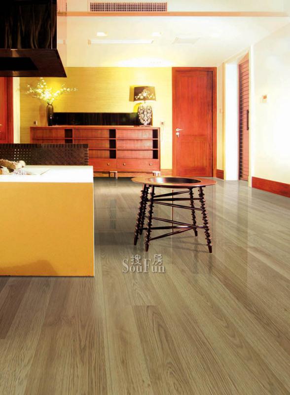 圣像地板_圣象地板pd9275配什么颜色的木门? 和红樱桃(栗子色)的木门 ...