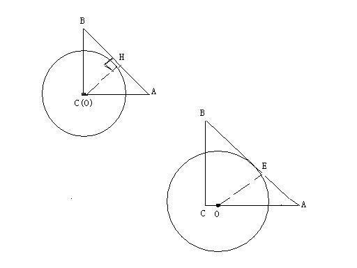 如图abc中ac ab bc_(2)过c做cm垂直ab于m,则cm=60/13.oe垂直ab,cm垂直ab,则ao/ac=oe/cm.即(5-oc)/5 ...