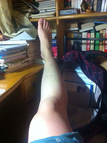 我是高中生走路一直外八字腿長成了這樣圖片