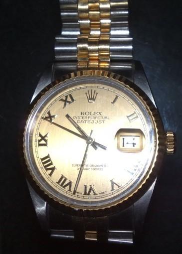 老款劳力士男表价格_谁能告诉我这只Rolex劳力士手表的价钱_百度知道