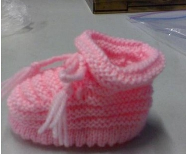 毛线宝宝鞋的织法_宝宝毛线鞋怎么织_百度知道