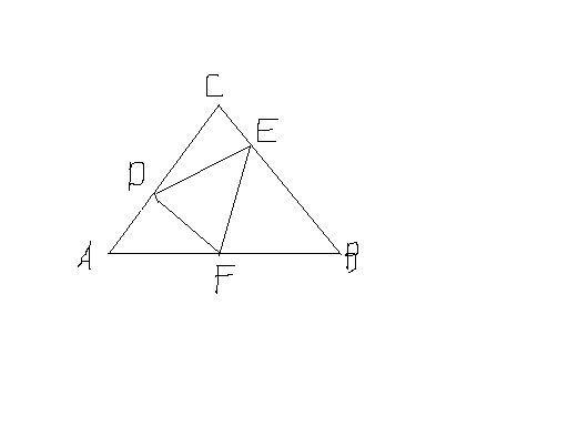 如图abc中ac ab bc_1、连接CF,则CF垂直平分AB,三角形AFC是等腰直角三角形;