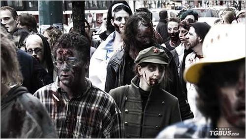 僵尸丧尸电影_求电影《生化危机1》里的丧尸图片,只是电影版生化1的~~在线等 ...